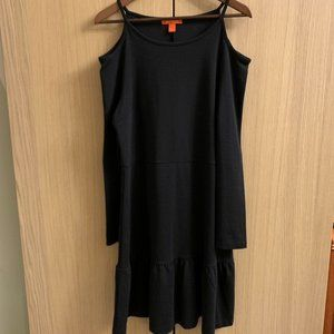 Joe Fresh Black mid-length dress LARGE